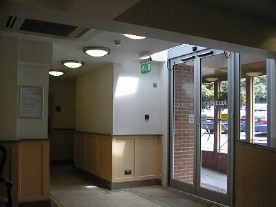 Lobby area - new lighting, HVAC, and emergency lighting